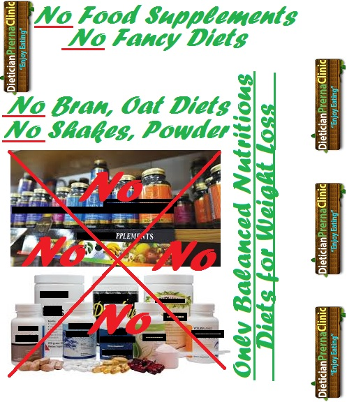 No Food Supplements, No Fancy Diets by Dietician Prerna