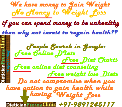 Paying program fee to a Dietitian is asset, Looking for best Weight Loss Programs, Gurgaon, India