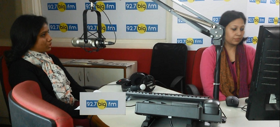 Best Dietician in Sushant Lok , Dietician Prerna at 92.7 BIG FM